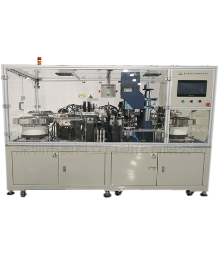 Automatic assembly machine without needle joint